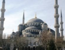 イスタンブールの象徴、ブルーモスク
